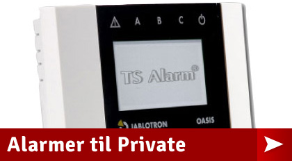 Alarmer til private